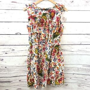 CITY STREETS Floral Print Mini Dress, size L